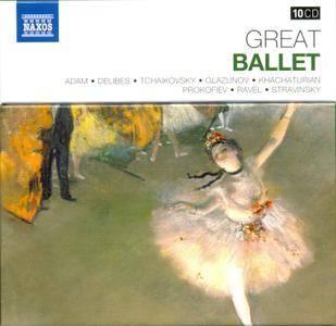 VA - Naxos 25th Anniversary: Great Ballet (2012) (10 CD Box Set)