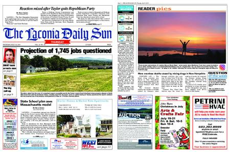 The Laconia Daily Sun – July 18, 2019