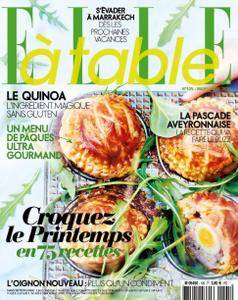 Elle à Table - Mars/Avril 2016