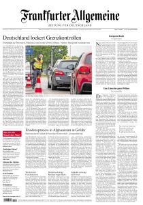 Frankfurter Allgemeine Zeitung - 14 Mai 2020