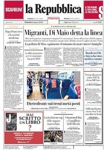 la Repubblica - 2 Agosto 2020