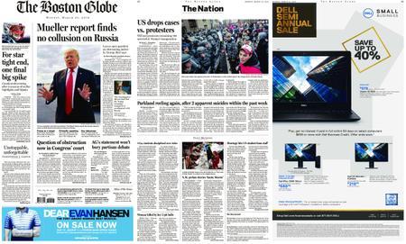 The Boston Globe – March 25, 2019