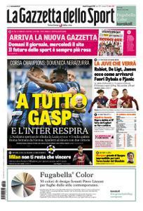 La Gazzetta dello Sport Roma – 06 maggio 2019
