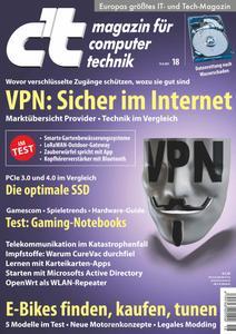 ct Magazin für Computertechnik No 18 vom 14 August 2021