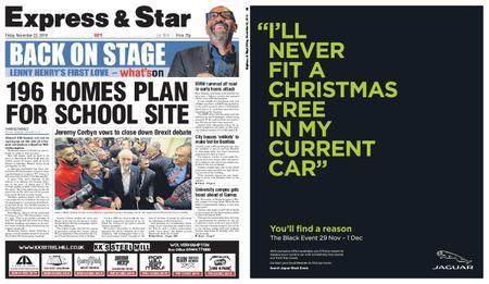 Express and Star City Edition – November 22, 2019