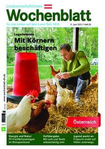 Bayerisches Landwirtschaftliches Wochenblatt Oesterreich - 10. Juni 2021