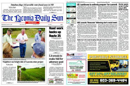 The Laconia Daily Sun – May 30, 2018