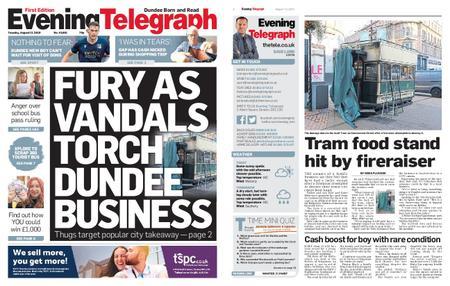 Evening Telegraph First Edition – August 13, 2019