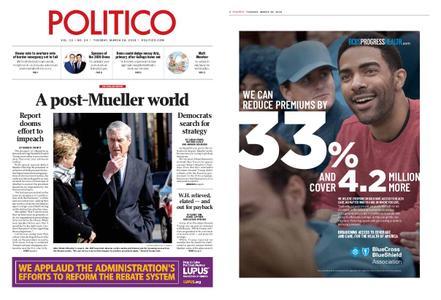 Politico – March 26, 2019