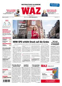 WAZ Westdeutsche Allgemeine Zeitung Buer - 15. April 2019