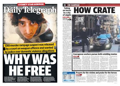 The Daily Telegraph (Sydney) – August 14, 2019