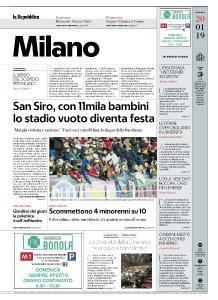la Repubblica Milano - 20 Gennaio 2019