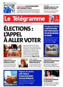 Le Télégramme Concarneau – 11 mars 2020