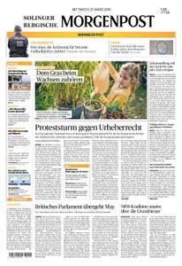 Solinger Morgenpost – 27. März 2019