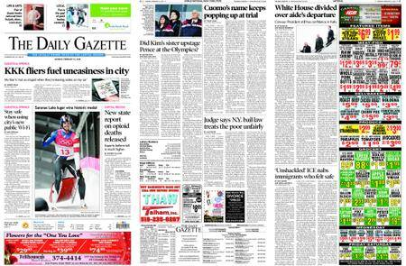 The Daily Gazette – February 12, 2018
