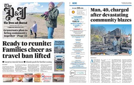 The Press and Journal Moray – April 14, 2021