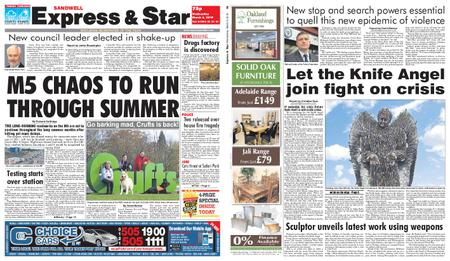 Express and Star Sandwell Edition – March 06, 2019