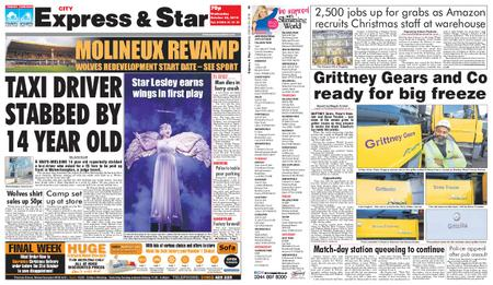 Express and Star City Edition – October 24, 2018