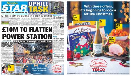 Shropshire Star Shrewsbury Edition – November 15, 2018