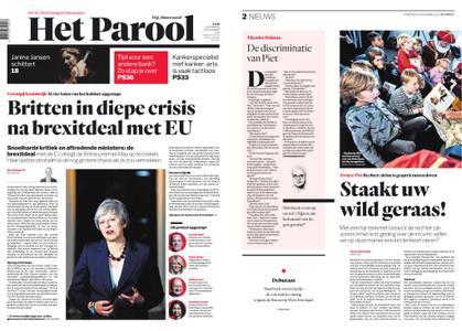 Het Parool – 15 november 2018
