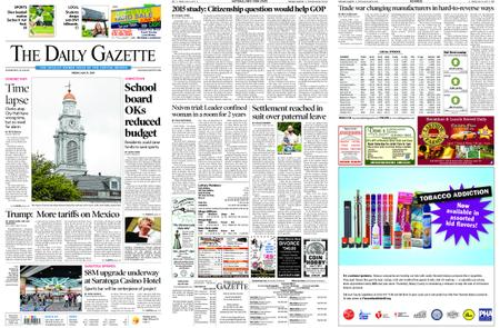 The Daily Gazette – May 31, 2019