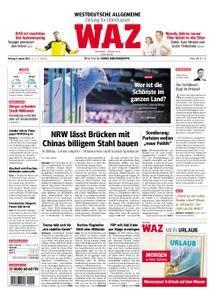 WAZ Westdeutsche Allgemeine Zeitung Oberhausen-Sterkrade - 08. Januar 2018