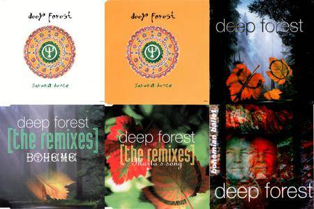 Deep Forest & Projects: Singles & Remixes Part 02 (1994 - 1996)