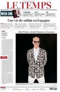 Le Temps - 17 août 2019