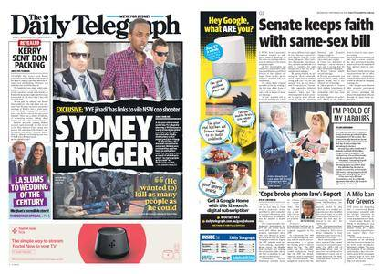 The Daily Telegraph (Sydney) – November 29, 2017