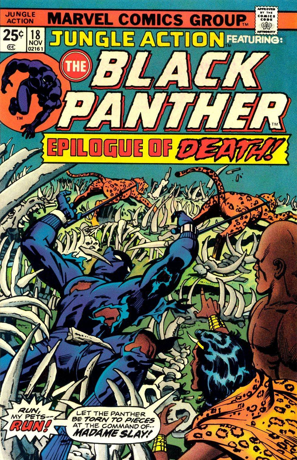 Jungle Action v2 018 featuring Black Panther