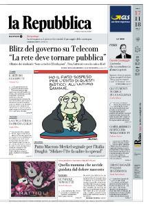 la Repubblica - 17 Novembre 2018