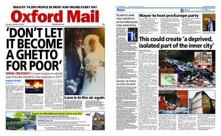 Oxford Mail – February 14, 2019