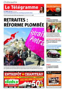 Le Télégramme Châteaulin – 18 octobre 2019