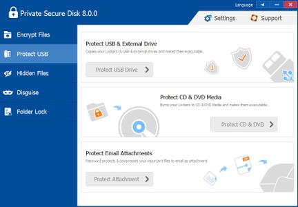 ThunderSoft Private Secure Disk 8.0.0