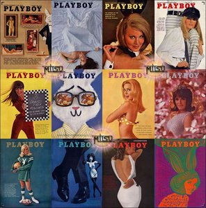 Playboy USA - Full Year 1967 Issues Collection