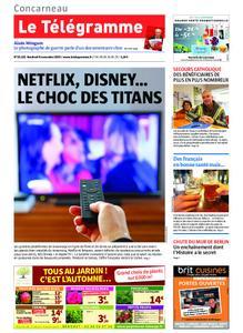 Le Télégramme Concarneau – 08 novembre 2019