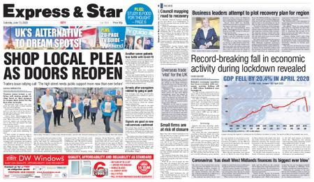 Express and Star City Edition – June 13, 2020