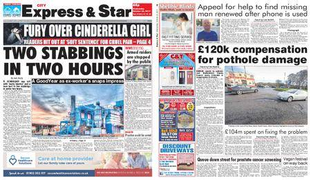 Express and Star City Edition – October 25, 2017