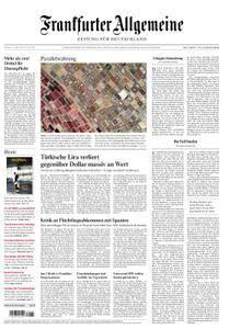 Frankfurter Allgemeine Zeitung F.A.Z. - 11. August 2018
