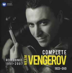Maxim Vengerov - The Complete recordings 1991-2007 (2014) (19CDs Box Set)