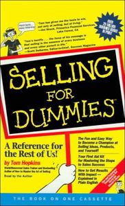 Selling For Dummies - Audio Book by Tom Hopkins