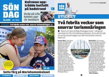 Ålandstidningen – 28 juli 2019