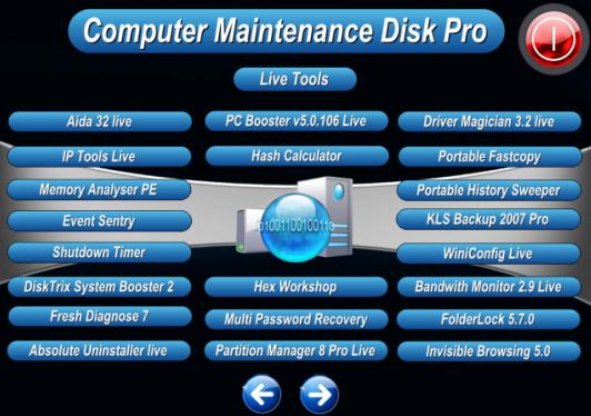 Computer Maintenance Disk Pro Lite ISO