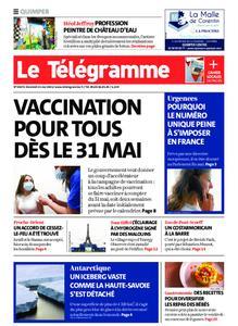 Le Télégramme Quimper – 21 mai 2021