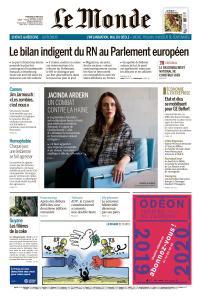 Le Monde du Mercredi 15 Mai 2019