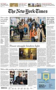 International New York Times - 19 March 2020