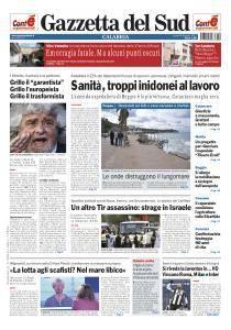 Gazzetta del Sud Reggio Calabria - 9 Gennaio 2017