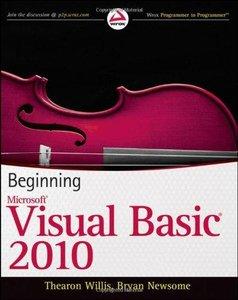 Beginning Visual Basic 2010 (Wrox Programmer to Programmer) (repost)