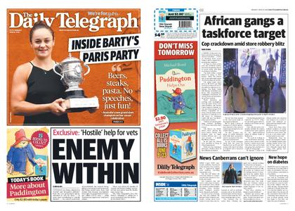 The Daily Telegraph (Sydney) – June 10, 2019