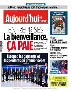 Aujourd'hui en France du Vendredi 5 Avril 2019
